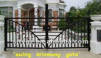 Classic style luxury wrought iron gate