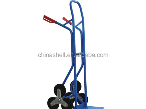high quality widely use hand trolley with 6 wheels