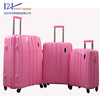 360 spinner wheels women travel luggage set/fashion travel luggage set