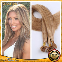 Best Selling In America Single Drawn Remy Nail Tip Remy Hair Extension