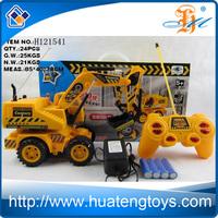 High Realistic Super Plastic Remote Control Excavator Radio Control Toy RC Excavator for Sale H121541