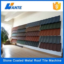 2015 Low Price Natural Colorful stone coated metal roofing materials,Roofing