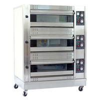 commercia industrial big bread oven, electric or gas