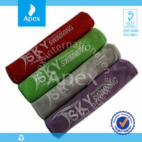 Colorful print microfiber cleaning cloth in roll
