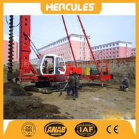 KLB26-800 crawler long auger drilling rig machine