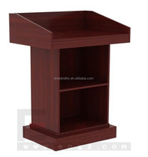 Commercial Furniture Custom Perspex Church Podium/Pulpit, Cheap Church Podium Designs