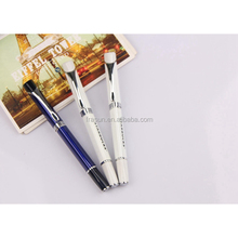 New design triangle silk printing import ink refill metal roller pen