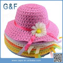 China Manufacturer baby straw hat wholesale