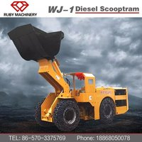 China underground loader load haul dump LHD mining equipment for sale