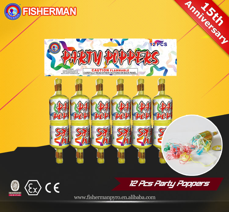 New product festival toy party poppers
