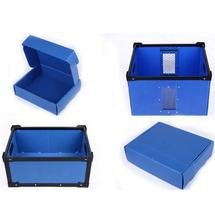 Pringting Accept Custom Recyclable Plastic Corrugated Storage Box