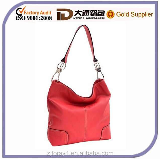 New fashion women leather shoulder hobo handbag