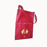 reusable promotional advertisement give away cheap price wallet foldable pp non woven folding shopping bag