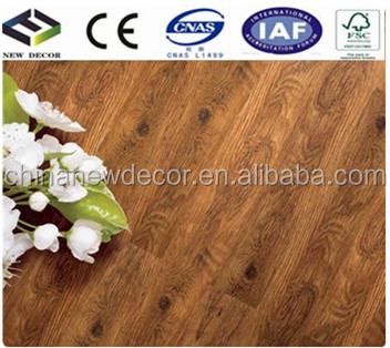 high quality antique oak parquet laminate flooring 12mm