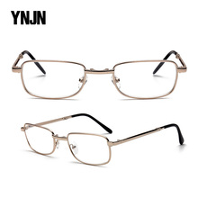 CE FDA China YNJN wholesale business metal alloy custom logo optical folding reading glasses