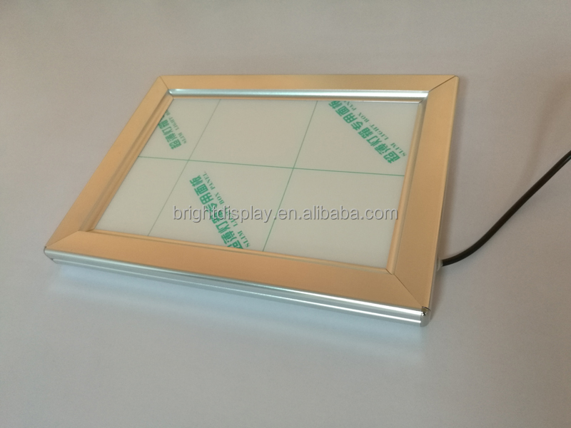 <strong>LED</strong> snap <strong>frame</strong> light box for advertising.