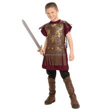 Wholesale Cheap Halloween Gladiator Kids Roman Soldier Costume FC2361