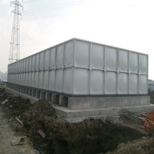 25 cubic meters GRP water storage tank in India