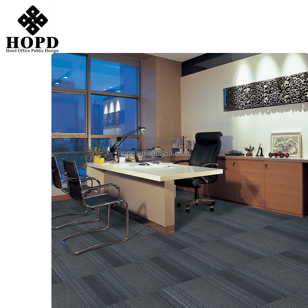 Commercial usage office and hotel floor carpet tiles customizable carpet