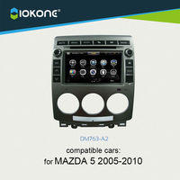 iokone dashboard touch screen car radio dvd multimedia gps navigation for mazda 5 2005-2010