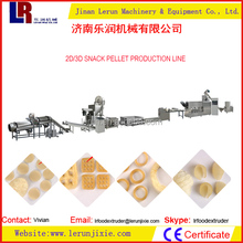 Shell Snack Inflating Fried Food Machinery