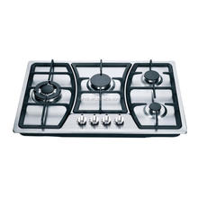 76cm hot sale 4 burner cast iron support built-in gas stove hot plates