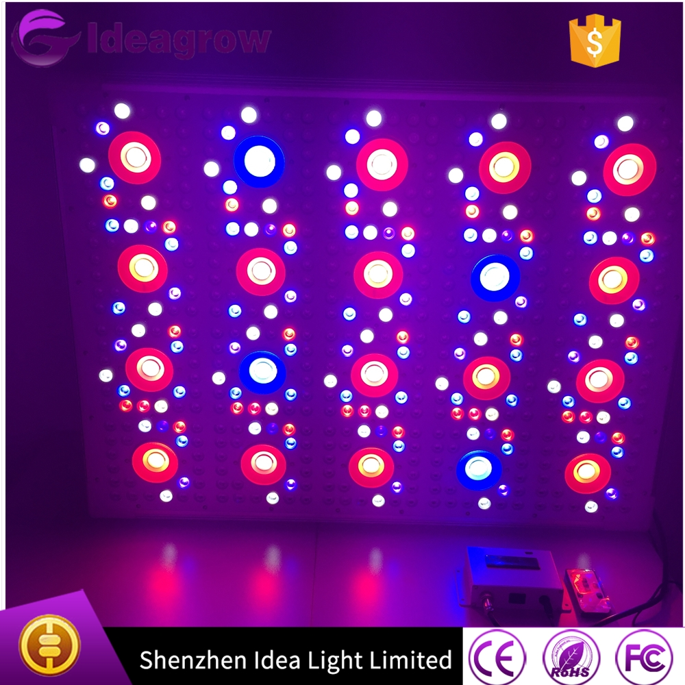 2017 New adjustable programmable timer switch 1000w 1200w 1500w dimmable full spectrum sunrise and sunset plant led grow light