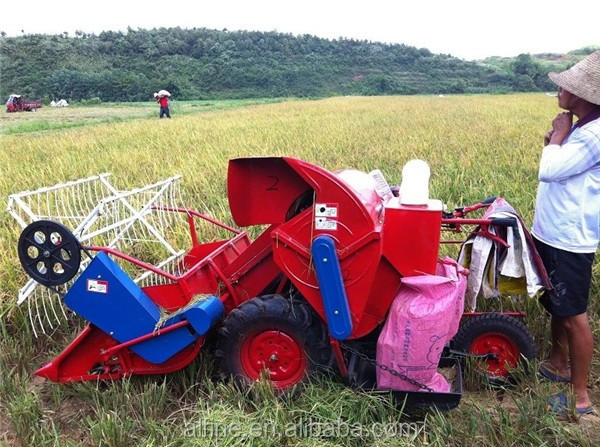 Alibaba whole sale reliable quality mini soybean harvester