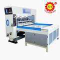 corrugated carton box rotary slotting machine
