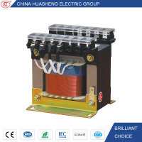 Insulation Class H Copper Winding Single Phase Step Down Transformer 12V Input 36V Output Transformer