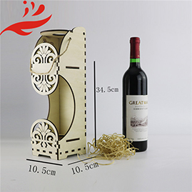 china manufacturer Natural Color New Wooden Wine Boxes