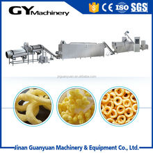Crisp and special stick cheese ring puff snack food machinery