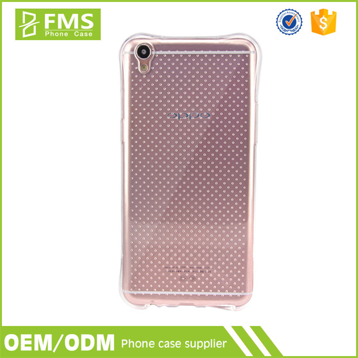 Wholesale Printable Soft Transparent TPU Silicon Case Cover For Oppo R9 Plus