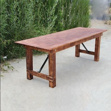 2019 New Vintage Home Outdoor Wood Farmhouse Wedding Decoration <strong>Table</strong>