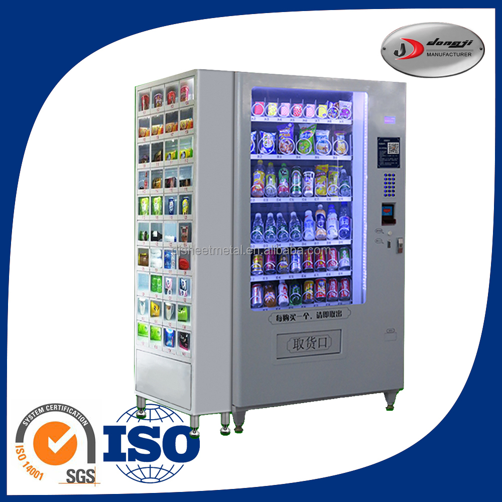 Good Quality Customized Ic Card Function Vending Machine Soda And Snack