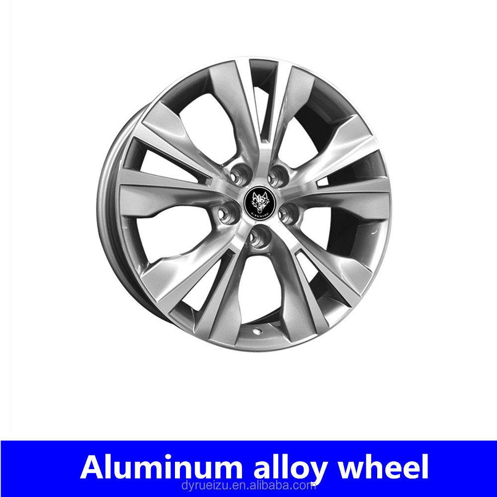 Casting replica wheel 18*7.5 5*114.3 wheels for Toyota with casting technology