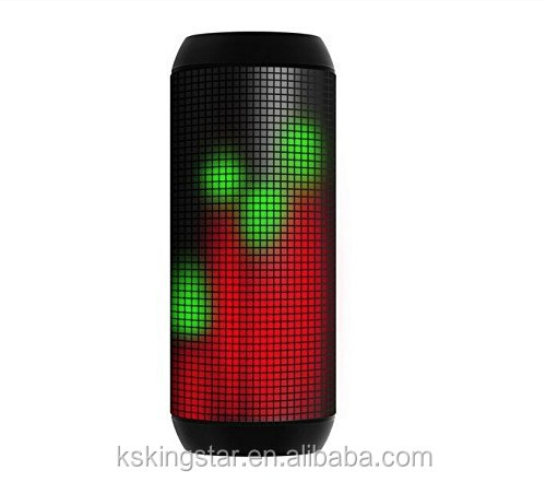 bluetooth wireless with flashing led light loud sound pulse speaker