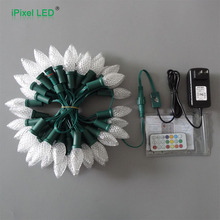 iPixel led IP68 C7 programmable led christmas string lights for holiday decoration