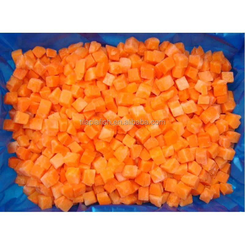 Diced frozen carrot for sale