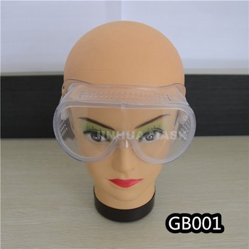 Transparent PVC adjustable goggles