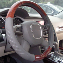 Best Selling Genuine Leather Carbon Steering Wheel Cover