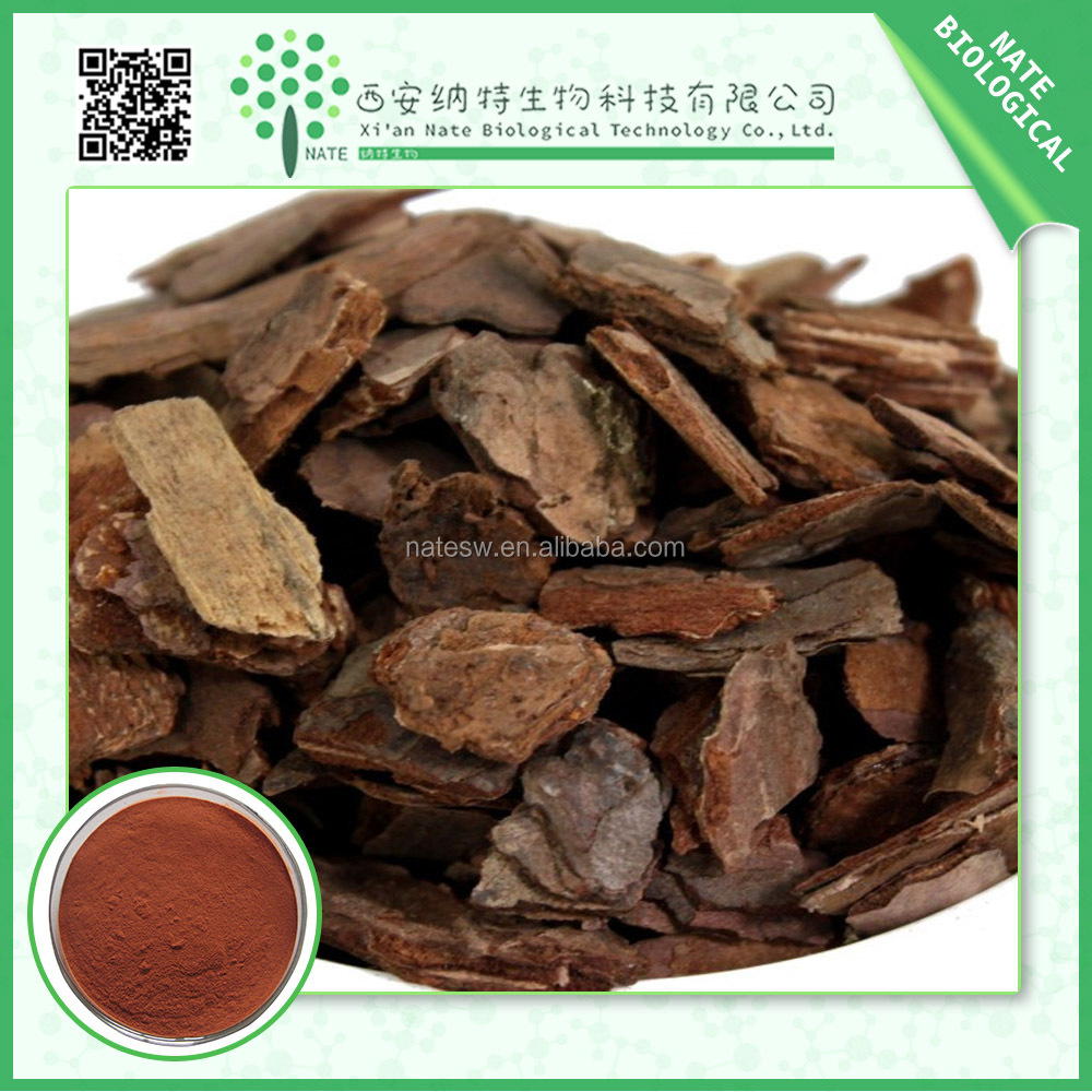 Factory supply 100% Natural french extract pine bark proanthocyanidins 95% powder