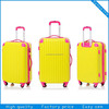 2014 hot hardcase pc printed sky travel luggage