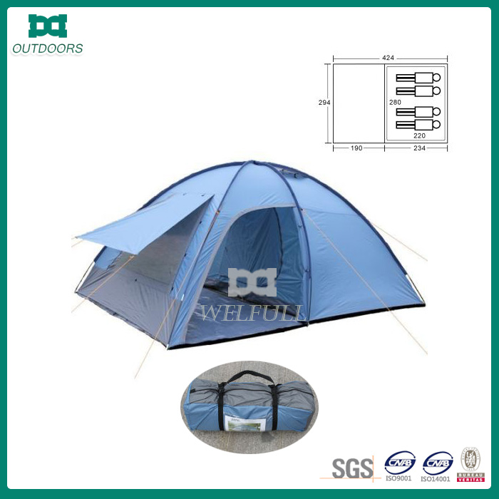 Big 5 person family camping tent