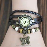high quality Bracelet Butterfly Decoration retro Wrist watchs