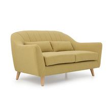 Modern Design Sectional fabric 2 seater sofa
