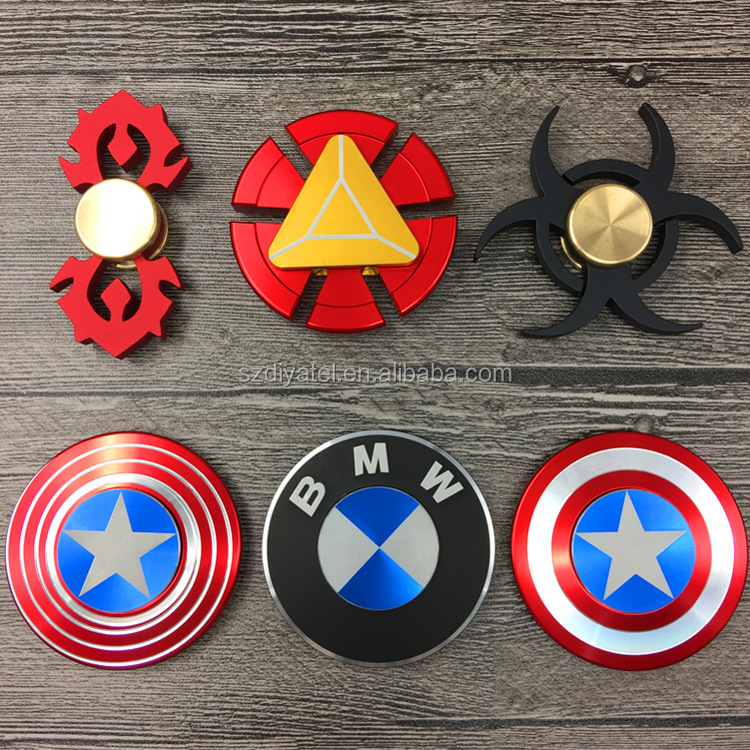 The Anti-Anxiety 360 Spinner Fidget Toy Shield Helps Focusing Premium Quality EDC for Kids & Adults