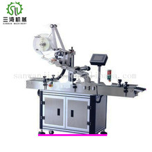 Servo Motor Automatic Barcode Sticker Label Labeling Machine for Bottle Different Sides Labeling Machine