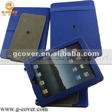 360 rotating case for ipad 3,pu case for ipad 3