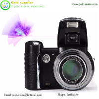 Fashion cheap DSLR 8X optical zoom black color camera digital camera DC